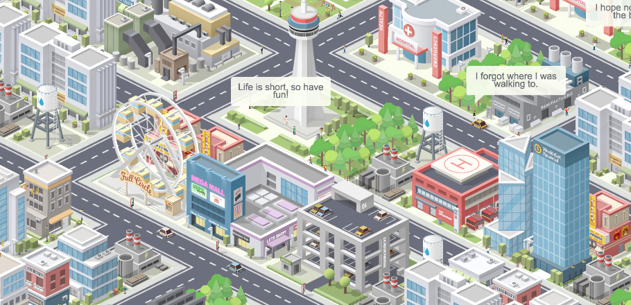 Pocket City - A mobile city building game (iOS, Android)